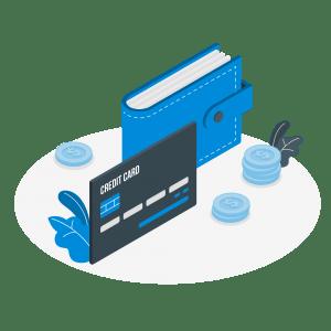 Einfache Kreditkarte-Amico